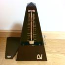 日本製 美品 NIKKO メトロノーム 木製 ニッコー