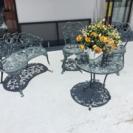 庭用テーブルイスセット