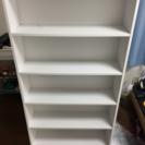 山善(YAMAZEN) コミック収納ラック6段 ホワイト 本棚