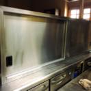 中古品 タニコー業務用ステンレス食器棚
