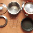 【再開】ポットデュオ エスプリ レコルト ミニグリル鍋 電気調理鍋