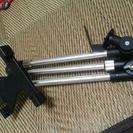 車載用タブレットアーム3関節/シートレール固定タイプ