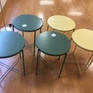 イケア 丸テーブル サイドテーブルとして