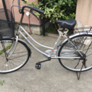 26インチ  自転車   シルバー