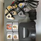 任天堂64 本体+ソフト4点セット
