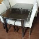ニトリ ダイニングテーブル 椅子4脚つき