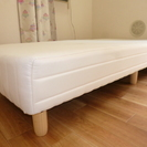 シングルベッド 100㎝×200㎝ 高さ35㎝