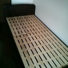 【取引中】高さが調整できるシングルベッド(中古品)
