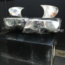 BMWe46前期純正ヘッドライトとクリアーレンズ
