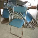パイプ椅子 折りたたみ椅子 30脚 中古品 古民家