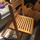 IKEAバタフライテーブル&椅子二脚