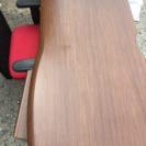 デスク(4段引き出し付き)椅子セット