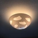 IKEA 天井用ライト 雲 白 中古