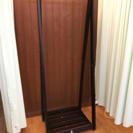 お洒落な木製ハンガーラック【新品同様】収納