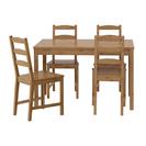 IKEA JOKKMOKK テーブル&チェア4脚,アンティークステイン
