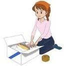 【急募・単発・日払い】お引越のためのダンボールへの梱包作業への