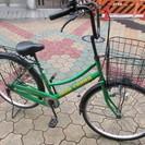 【整備済】26インチ  前後タイヤ新品 カマキリハンドル自転車 ロ...