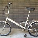 小型自転車 + 空気入れ 4000円
