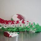 【引取り限定】(中古品・特価)メキシコ・オアハカ産パーティー装飾ペーパー