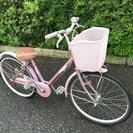 中古の自転車