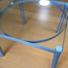 透明ガラステーブル