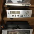 Aurexレコードプレーヤーセット