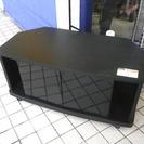 札幌 引き取り 格安 テレビ台/TVボード AVラック 黒 小型タイプ