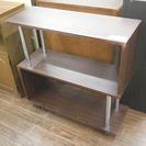 札幌 引き取り 飾り棚 オープンラック/ブックシェルフ ラック 収納棚