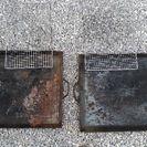 バーベキュー用鉄板グリル(大x2台)