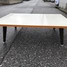 【無料です】折り畳みローテーブル 奥行76cm×横幅106cm×高...