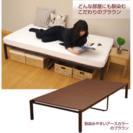 セミダブル パイプベッド ベッドフレーム