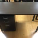 【引き取り限定】ニトリのテーブルと袖机のセット (2セット以上購入...