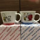 新品・未使用 スヌーピークリスマスマグカップ&プレート