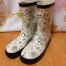 【交渉中】レインブーツ 長靴 花柄