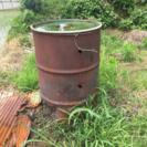 ドラム缶  (焼却炉)
