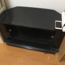 テレビ台 ガラスラック付き 無料