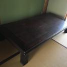 ローテーブル(180x90cm)