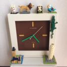 ナノブロック  時計  フィギュア  ミニチュア  動物