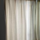 無印良品 綿帆布プリーツカーテン