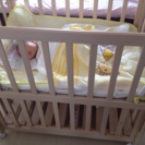 ベビーベッド 赤ちゃんベットミニサイズマンションで便利 出産準備