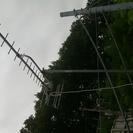 地デジアンテナセット(アンテナ、ケーブル、マウント付)要引取