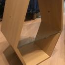 木製の小型棚×三台あげます