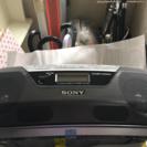 SONYのCDラジカセ新品未使用