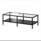 IKEA  ガラス天板 コーヒーテーブル テレビ台