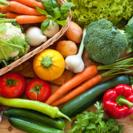 簡単な野菜の仕分け作業