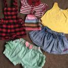 女の子size90夏服セット売り6枚