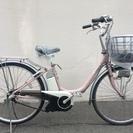 ヤマハ パス リチウム ピンク ビビ アシスタ 神戸市 電動自転車
