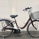 ヤマハ パス リチウム 赤茶 ビビ アシスタ 神戸市 電動自転車
