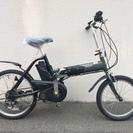パナソニック オフタイム 折り畳み 小径車 バッテリー二個 神戸市...