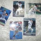 2001カルビー ベースボールカード5枚金サイン(日本ハム ファイ...